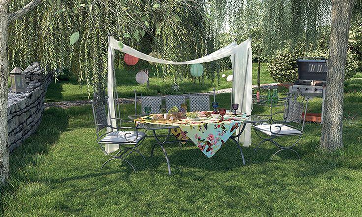 Cum ați decora o grădina pentru o petrecere?