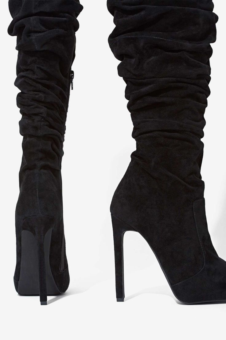 Jeffrey Campbell Alamode Suede Boot