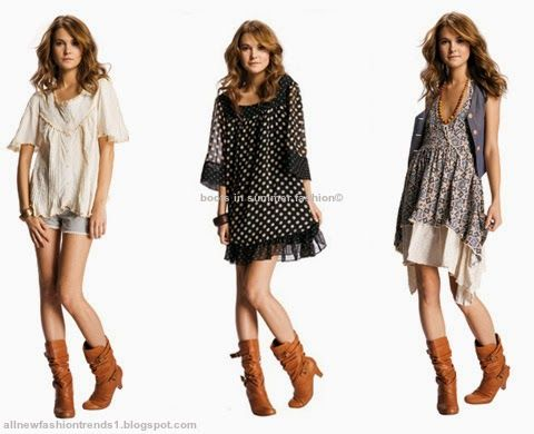boots in summer fashion