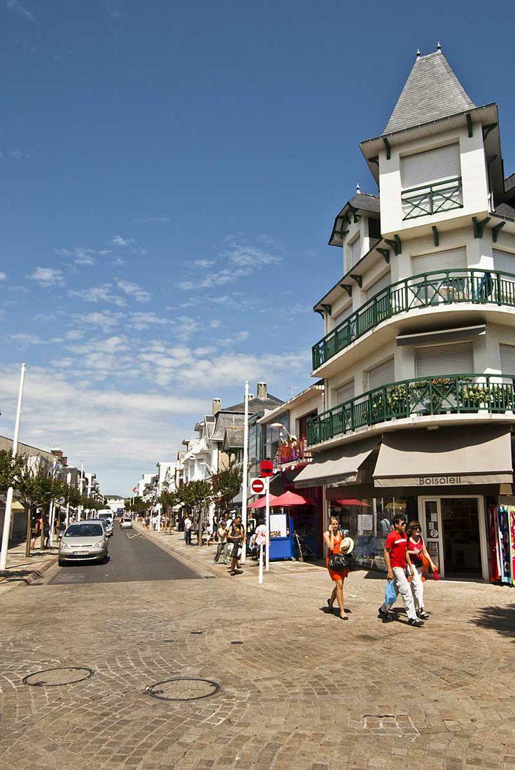 Visite La Baule, station de charme : à   La Baule - Presqu'île de Guérande