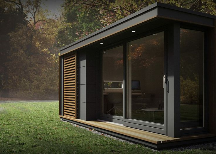Tiny Modern House these pop-up modular pods can add a garden studio or off-grid