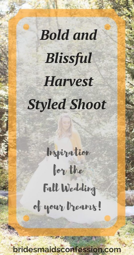 This bold and blissful harvest styled shoot is inspiration for the fall wedding of your dreams.