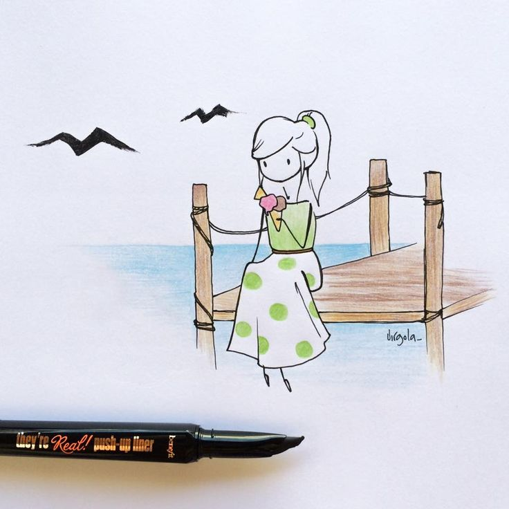 Virgola | Il diario di Virgola, vita da illustratrice