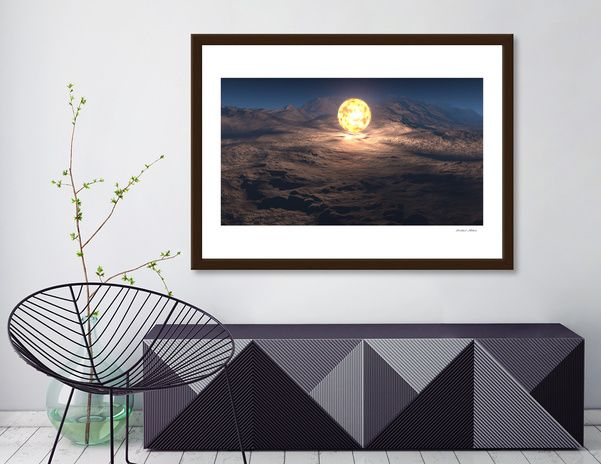 Discover «Fire ball», Exclusive Edition Fine Art Print by Mikhail Prokhorov - From $25 - Curioos