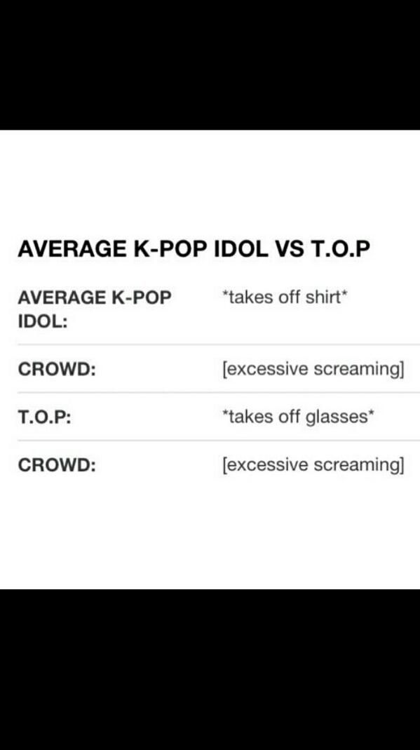 Haha so true! #Kpop #T.O.P