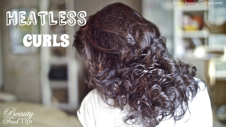 Heatless Curls using a hair friendly method ;)