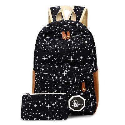 CIKER Preppy style Hot 2016 fashion women backpack school travle bag laptop backpacks printing mochila rucksack shoulder bags
