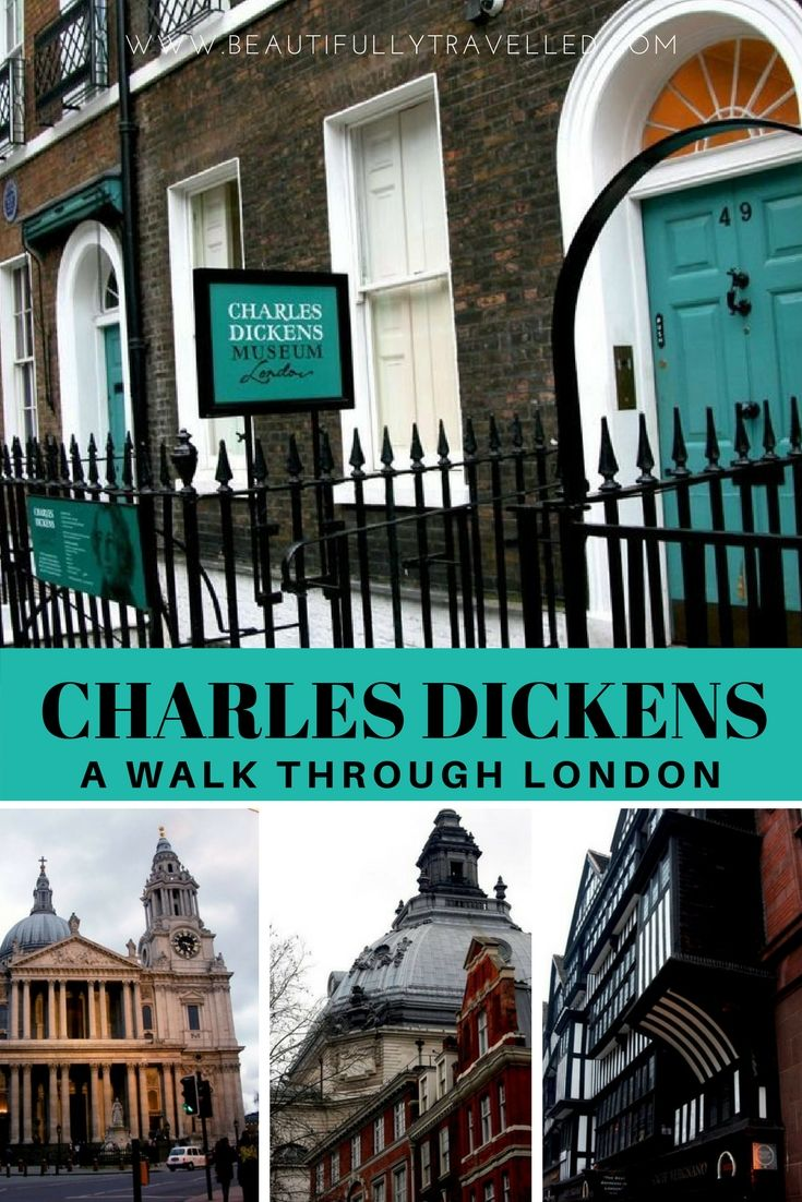 Charles Dickens Self Guided Walking Tour