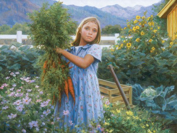 A Bunch of Carrots by Robert Duncan
