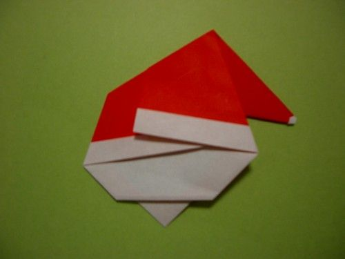 かわいいサンタクロースの折り方 - 現役男性保育士あきらのひとりごとブログ