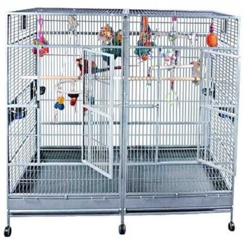 Double Macaw Cage | eBay