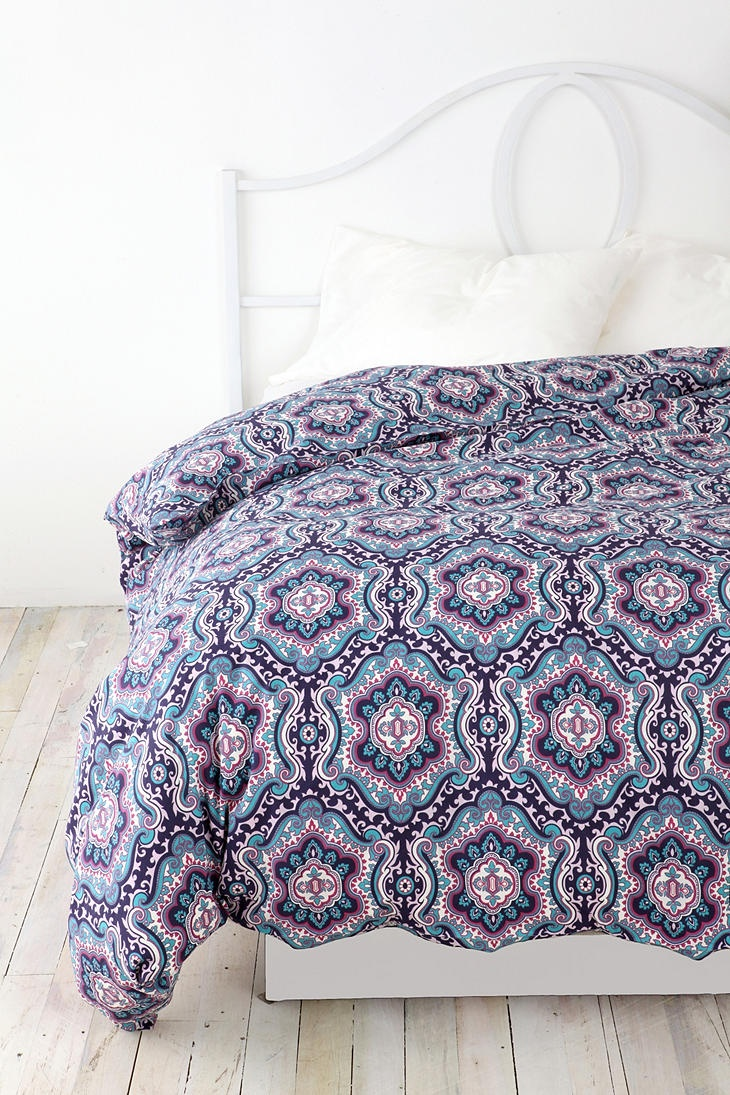 Bohemian Medallion Duvet Cover, urban outfitters, $79