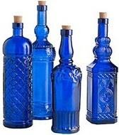 Assorted Cobalt Glass Bottles: Cobalt Glass, Window, Blue Bottles, Color, Cobalt Blue, Glass Bottles, Cobalt Bottles
