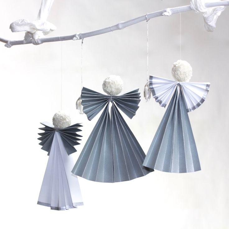 weihnachtliche engel mit ferrero raffaello origami origami