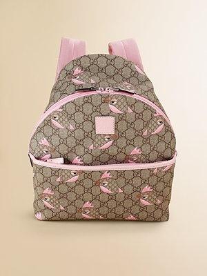Gucci Kid's Gucci Zoo Backpack