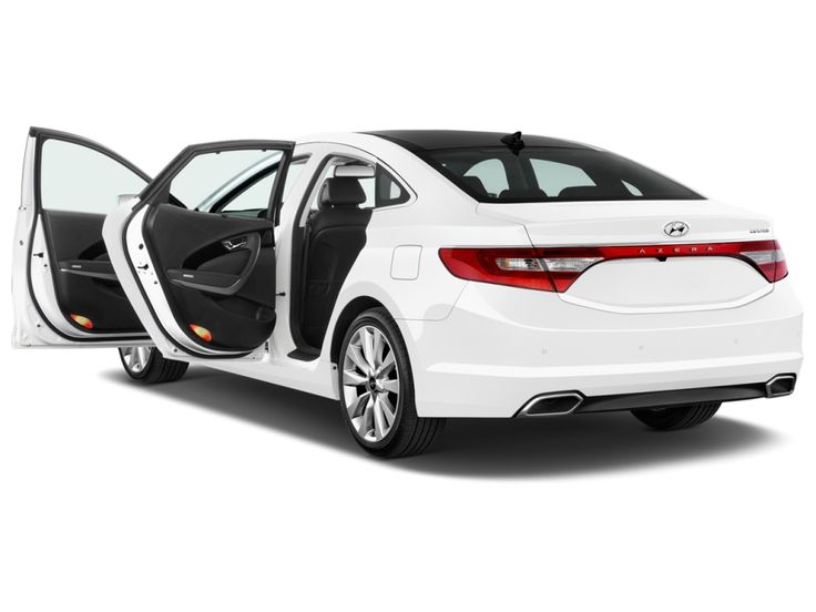 2015 Hyundai Azera Limited Front Exterior On the exterior, car looks exclusive with modern design.
