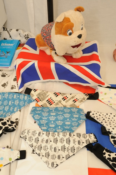 Hand made Dog neck ties from Muttleys Kitchen £5