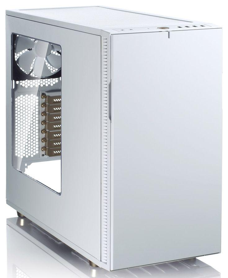 Корпуса Fractal Design Define R5 и SilverStone Primera PM01 облачились в новые цвета