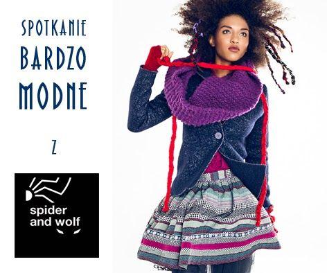 polish brand of fashion SPIDER AND WOLF #clothing #woman #polish #fashion #designer #unique #spotkaniabardzomodne