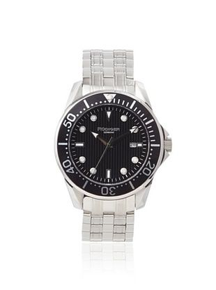 80% OFF Rudiger Men's R2000-04-007 Chemnitz Black Luminous Watch