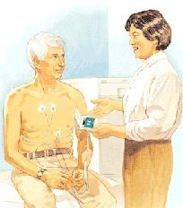 holter monitor 5 lead ecg placement