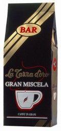La Tazza d'oro Gran Miscela Caffé Espresso Gran Caffé. Die Dominanz der erlesenen, gewaschenen Arabicakaffeesorten aus Mittelamerika, besonders delikat und aromatisch, leicht und doch vollmundig, geben diesem Kaffee seinen einzigartigen Geschmack.