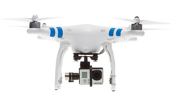 DJI Phantom 2 Quadcopter with Zenmuse H3-3D Gimbal for GoPro