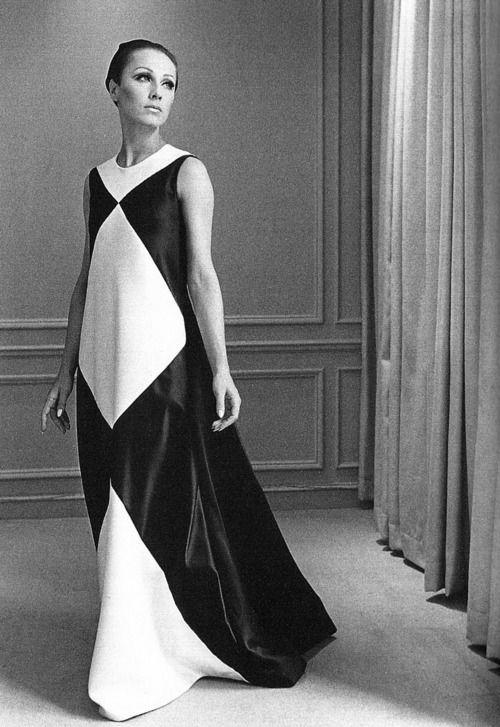 Dress by Halston, 1960s
