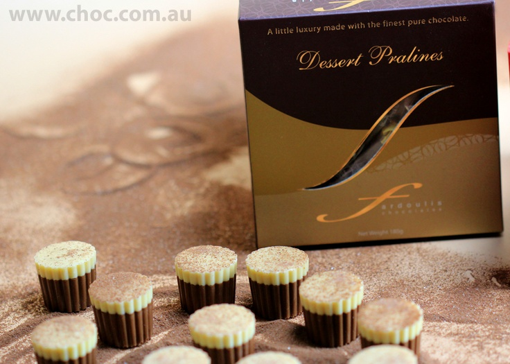 If Cocoa was dust and a chocolate was a chair, what would be a box of Dessert Pralines ? www.choc.com.au
