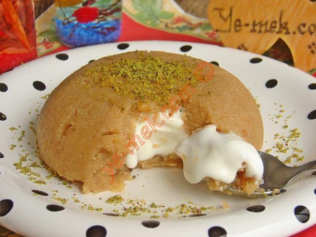 Dondurmalı İrmik Helvası Resimli Tarifi - Yemek Tarifleri