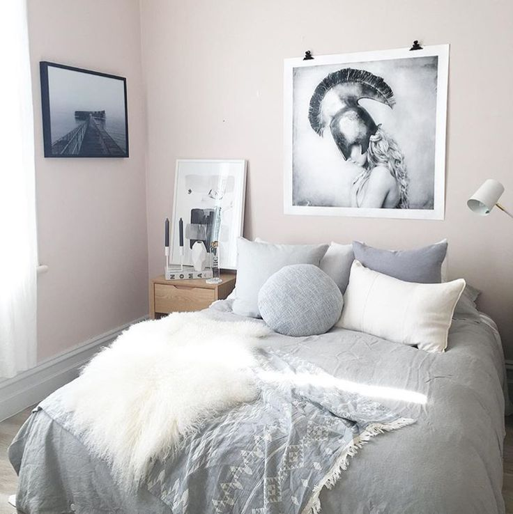 Stunning bedroom styling inspo via @norsuinteriors with our Kilim Throw 💕 www.knotty.com.au