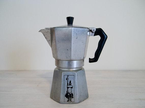 Vintage Bialetti Moka Express Pot Coffee For The Love