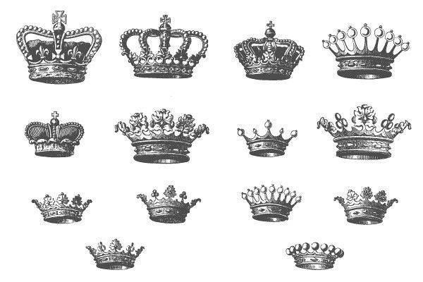 Queen Crown Tattoos | King And Queen Crown Tattoos