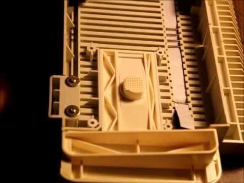 Replacing the Sponge Strip (Bar) on a Singer LK-150 Knitting Machine
