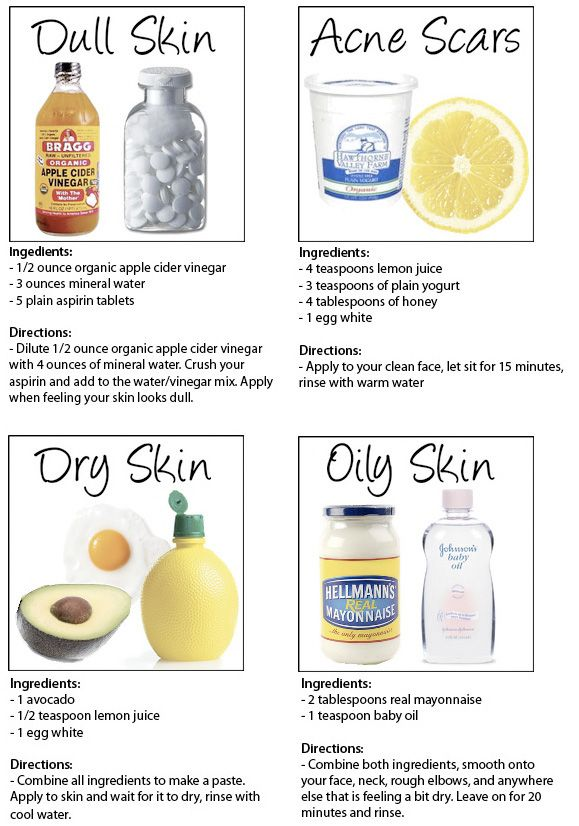DIY beauty skin recipes