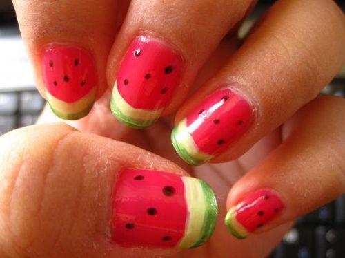 Good summer nails..