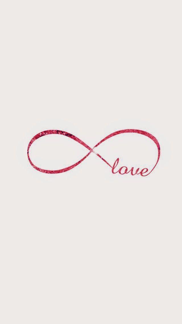 Pink Love Infinity wallpaper