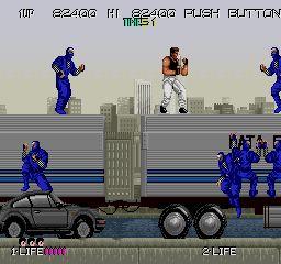 Bad Dudes Vs. Dragon Ninja - Arcade - 1988