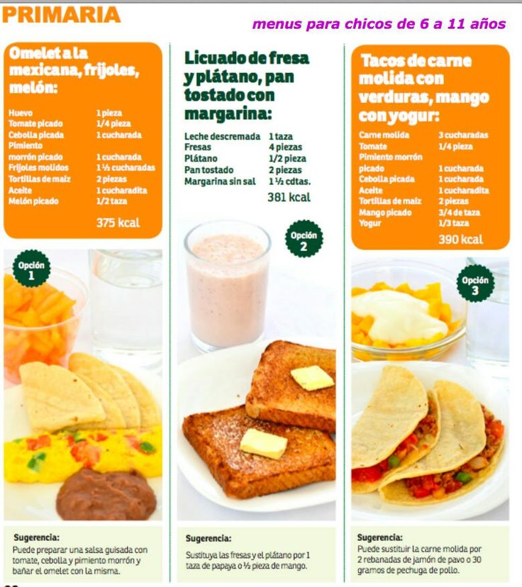 25 best ideas about desayunos infantiles on pinterest for Comida saludable para ninos