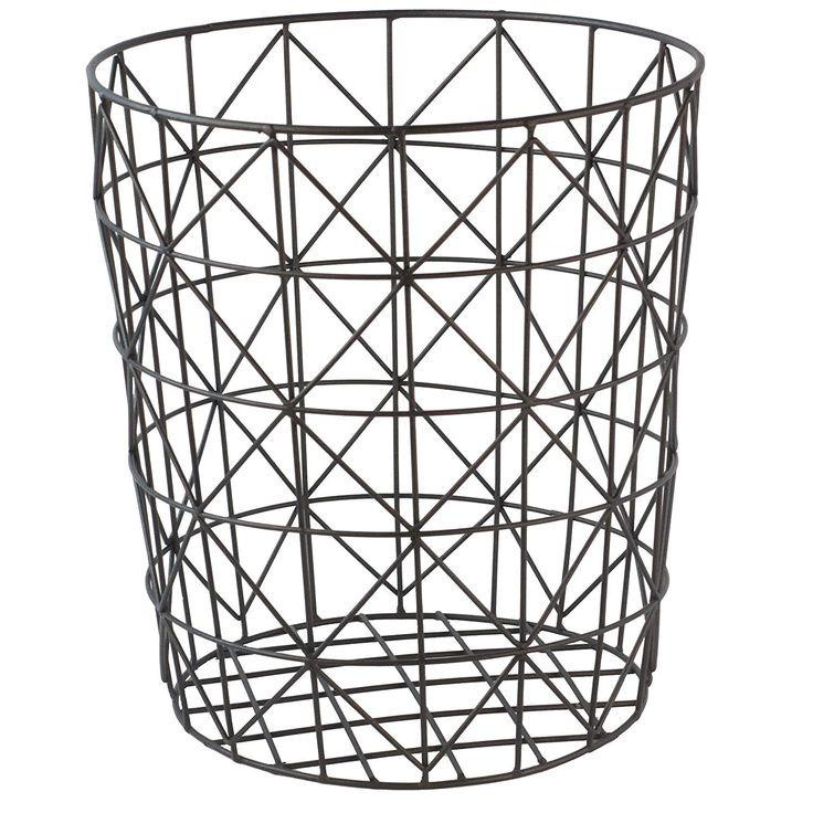 GOLDBEARUK Black Wire Mesh Geometric Modern Style Laundry