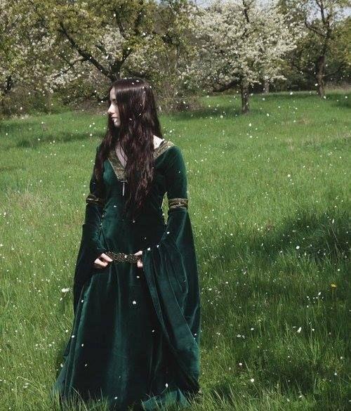 Forest Maiden Fantasy Medieval Forest Maiden