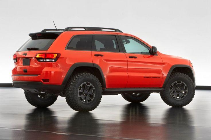Jeep Grand Cherokee Trailhawk II Concept.