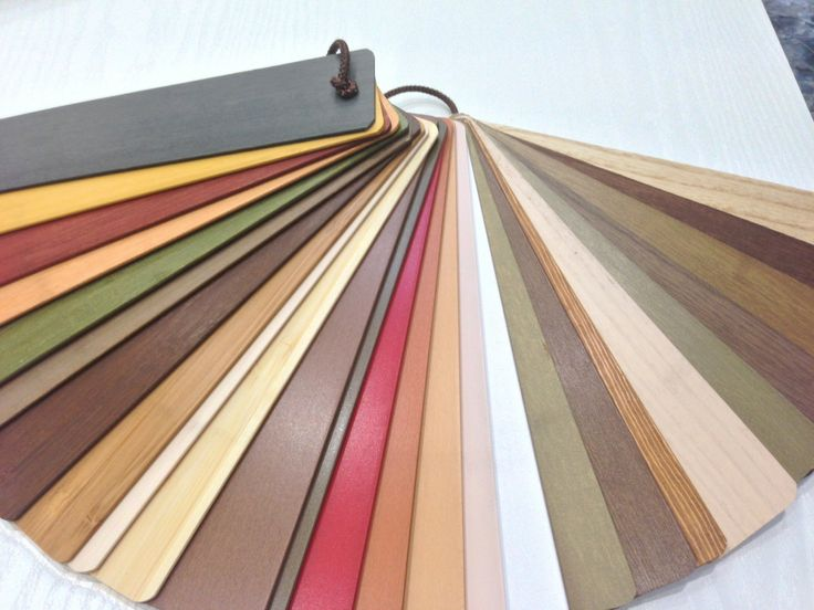 wood blinds colour chart