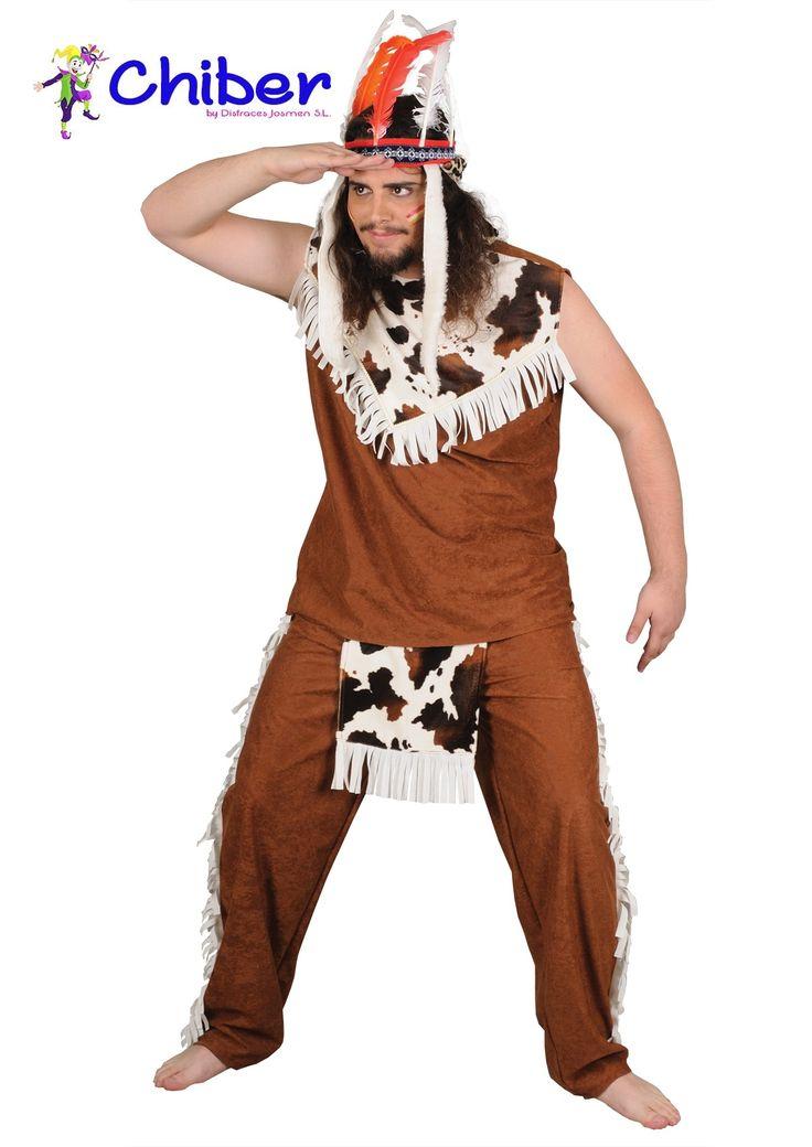 Disfraz Indio Oso Pardo: La tribu de los Shoshone era un grupo de pueblos de lengua uto-azteca, habitaban un amplio territorio en la meseta occidental de Estados Unidos, entre las Montañas Rocosas y Sierra Nevada. Comprendía a las siguientes tribus: Comanches, Paiute, Yute, Serrano, Gabrieleño, Fernandino y Juaneño.