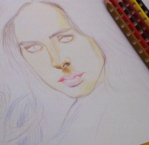 Jessica Jones work in progress by DarwiO
