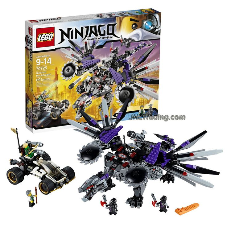 lego ninjago series vehicle set 70725 nindroid. Black Bedroom Furniture Sets. Home Design Ideas