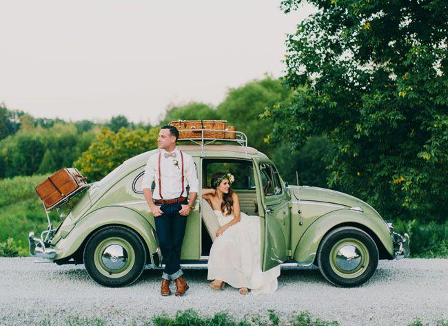 16 best wedding car images on pinterest wedding cars car and vw handmade canadian barn wedding katy tyler junglespirit Images
