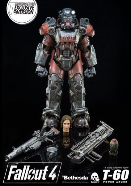 This 'Fallout 4' T-60 Power Armor Figure Costs A Lot Of Bottle Caps