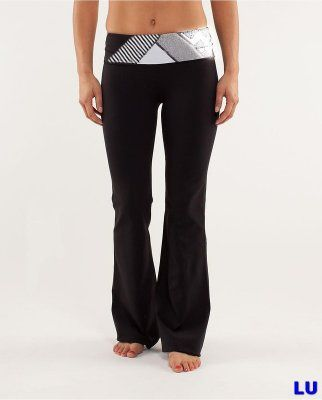 Lululemon Outlet Groove Pant Variegated Black & White & Orange : Lululemon Outlet Online, Lululemon outlet store online,100% quality guarantee,yoga cloting on sale,Lululemon Outlet sale with 70% discount!$45.77