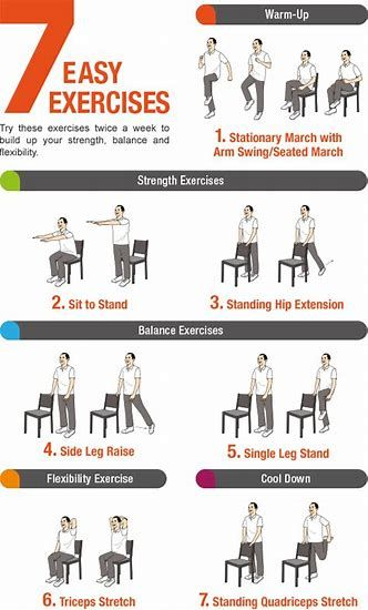 Image result for printable Chair Exercises For Seniors ...